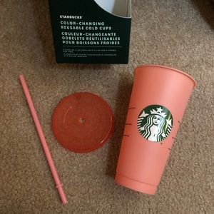 💗 LAST ONE color changing Starbucks cup tumbler